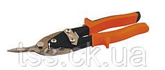 Ножницы по металлу MASTERTOOL 250 мм правые (левый рез) CrMo 01-0426