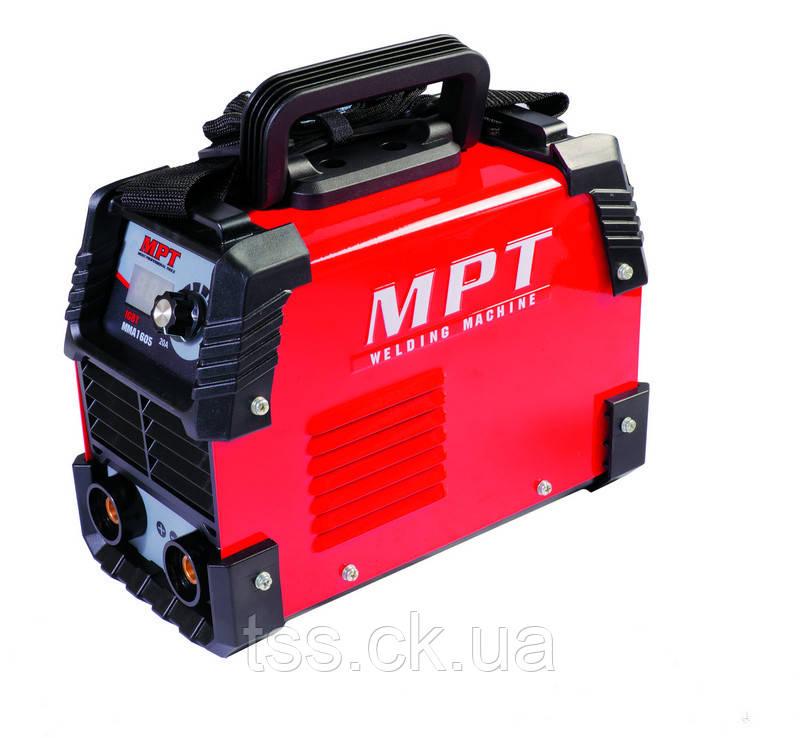 Сварочный аппарат инверторного типа 20-160 А, 1.6-4.0 мм, аксесс. 6 шт MPT MMA1605