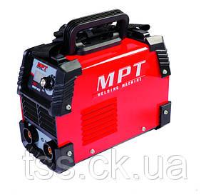Сварочный аппарат инверторного типа 20-160 А, 1.6-4.0 мм, аксесс. 6 шт MPT MMA1605, фото 2