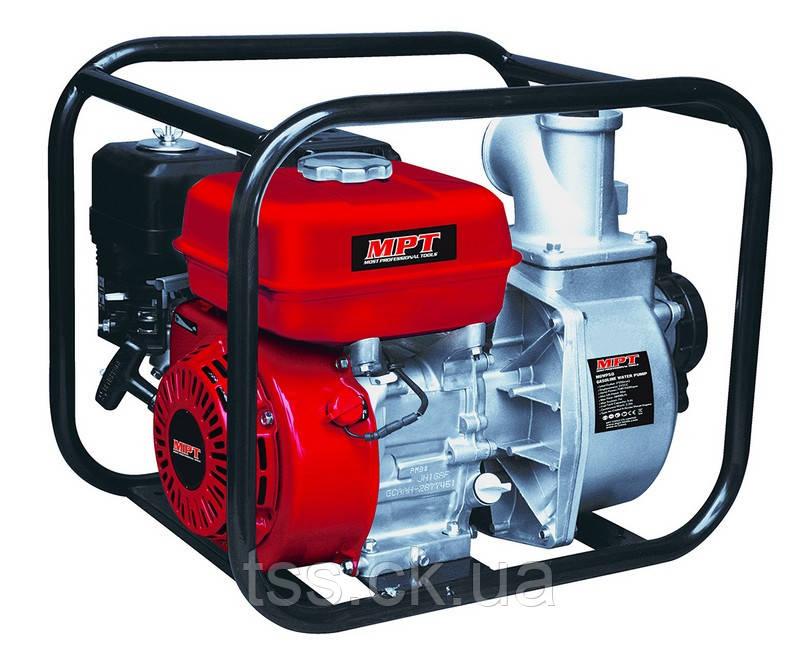 Мотопомпа бензинова 4-х тактний 5200 Вт/7 к. с., 212 см. куб., вхід/вихід 50 мм, 28 м. куб/год MPT MGWP50