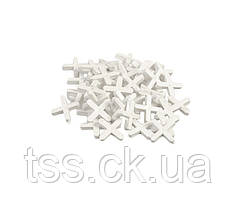 Крестики дистанционные MASTERTOOL 4.0 мм 81-0540
