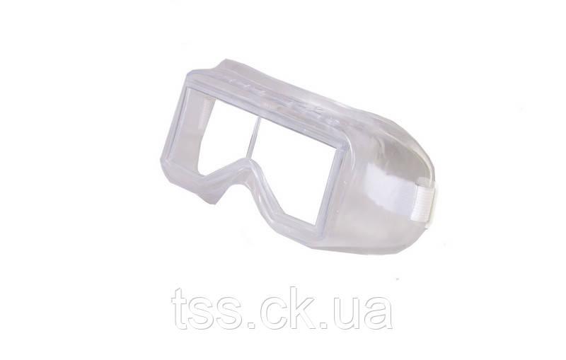 Окуляри захисні закриті ДАЙВЕР силіконові, лінзи полікарбонат MASTER TOOL 82-0613