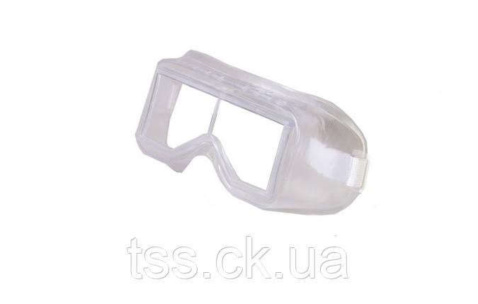 Окуляри захисні закриті ДАЙВЕР силіконові, лінзи полікарбонат MASTER TOOL 82-0613, фото 2
