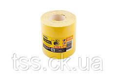 Шкурка шлифовальная на бумажной основе MASTERTOOL Р60 115 мм 10 м 08-2906