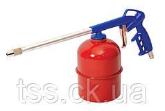 Пневмопистолет для нефтевания МОВИЛЬ бак 900 мл Ø 4,5 мм 3-4 бар MASTERTOOL 81-8705