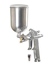 Краскопульт HP MINI СБ 200 мл, алюміній поворотний, Ø 0,5 мм, 60-90 л/хв, 2,5-4,0 бар, рег. факел MASTERTOOL