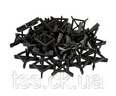 Крестики дистанционные многоразовые MASTERTOOL тип 1 1.5 мм 30 шт 81-0615