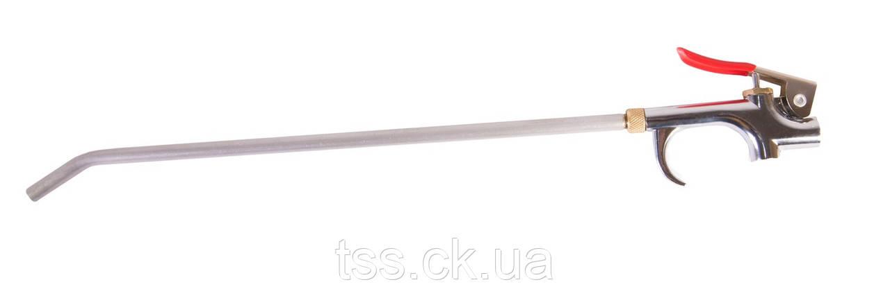 Пневмопістолет продувний Ø 6 мм, 10 бар, з носиком 300 мм MASTERTOOL 81-8744