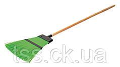 Метла уличная плоская Евро с деревянной ручкой 1500 мм ПП ГОСПОДАР 14-6368