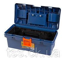 "Ящик для инструмента MASTERTOOL 14"" (345х170х150 мм) пластиковые замки 79-2614, фото 3"
