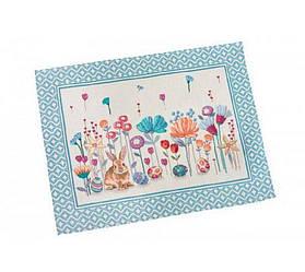 Пасхальная салфетка на стол гобеленовая LiMaSo 37*49 см RUNNER651
