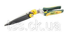 Ножницы для стрижки травы 330 мм поворотные, лезвия тефлон,  ручки ABS+TPR MASTERTOOL 14-6141