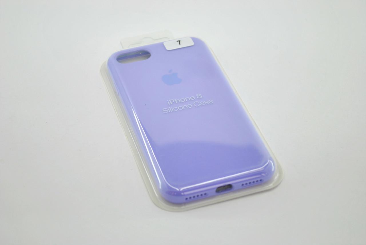 Чехол для телефона iPhone 7 /8 Silicone Case original FULL №47 lilac (4you)
