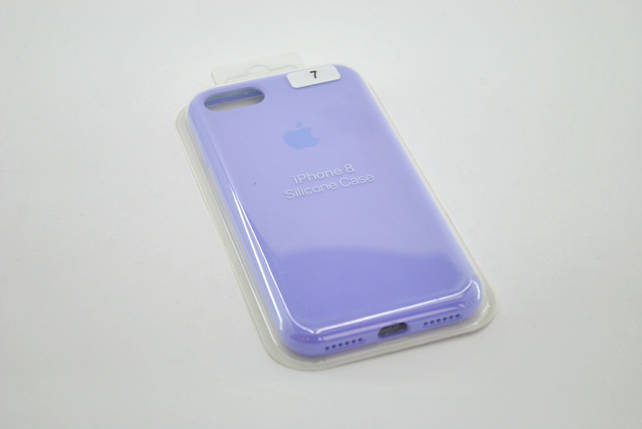 Чехол для телефона iPhone 7 /8 Silicone Case original FULL №47 lilac (4you), фото 2