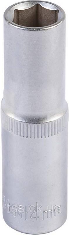 """Насадка торцевая 6-гранная удлиненная 1/2"""", 14 мм. CRV MASTERTOOL 78-0514"""