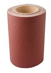 Шкурка шліфувальна на тканинній основі Р220 200 мм*10 м MASTERTOOL 08-2822