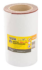 Шкурка шліфувальна на тканинній основі Р240 200 мм*10 м MASTERTOOL 08-2824