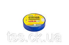 Лента изоляционная MASTERTOOL 0.15 мм 17 мм 15 м 10 шт синяя 44-9015