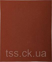Папір шліфувальний водостійкий Р400 230*280 мм, 20 шт MASTERTOOL 08-2640-Р