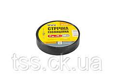 Лента изоляционная MASTERTOOL 0.15 мм 17 мм 25 м 10 шт черная 44-9125