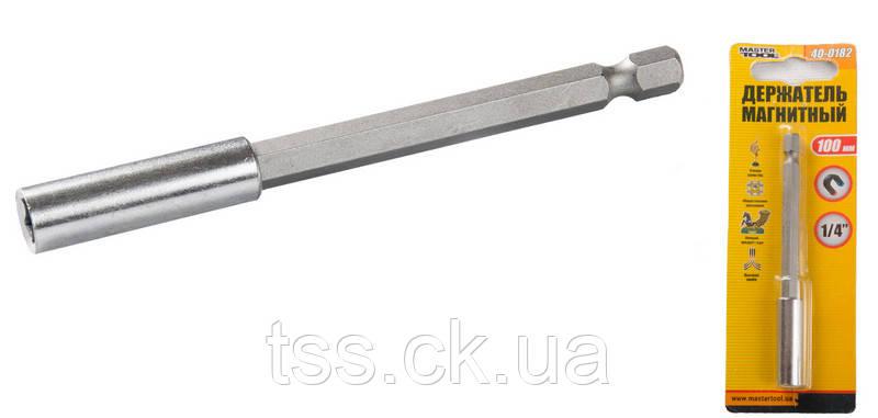 Тримач магнітний 100 мм MASTERTOOL 40-0182