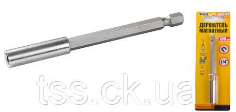 Тримач магнітний 100 мм MASTERTOOL 40-0182, фото 2