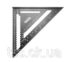 Угольник плотника MASTERTOOL SWANSON 300 мм алюминиевый 30-3519