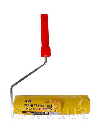 Валик прижимной обойный 58/250 мм  d 8 мм с ручкой MASTERTOOL 92-6425, фото 2