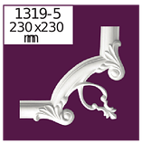 Молдинг для стен  Home Décor 1319 (2.44м)  , лепной декор из полиуретана, фото 4