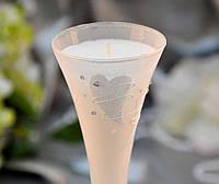 Свеча в бокале 36068  H