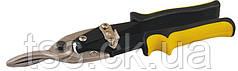Ножницы по металлу MASTERTOOL 250 мм прямые (прямой рез) CrV 01-0424