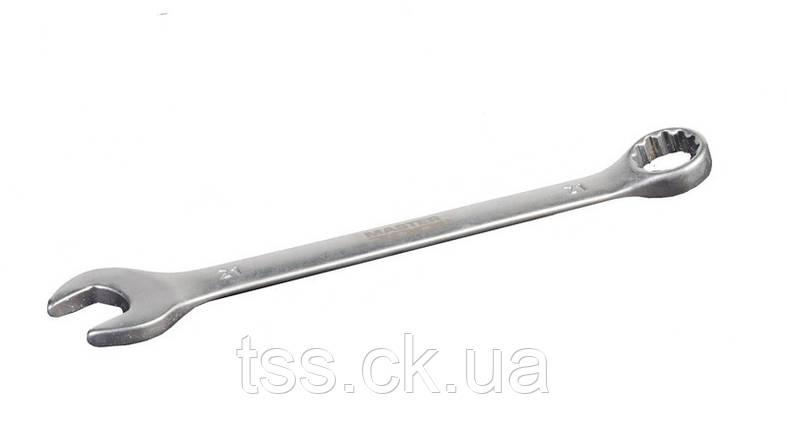 Ключ рожково-накидной 21 мм SS MASTERTOOL 71-1021, фото 2
