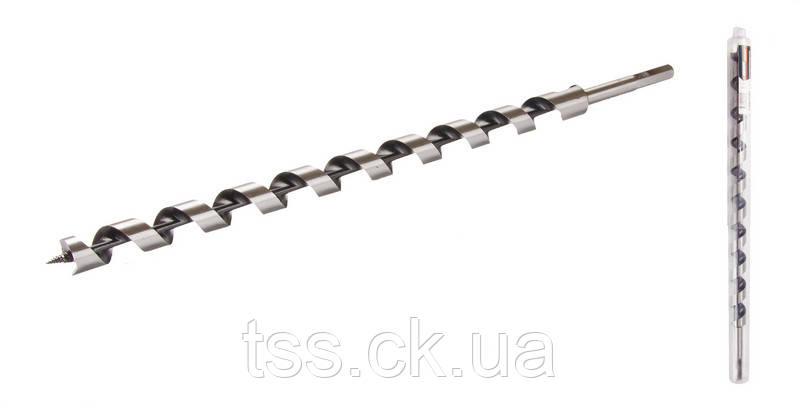 Сверло для дерева спиральное 22*460 мм GRANITE 2-02-224, фото 2