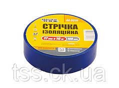 Лента изоляционная MASTERTOOL 0.15 мм 17 мм 10 м 10 шт синяя 44-9010