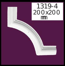 Угол  Home Décor 1319-4 кутовий  , лепной декор из полиуретана