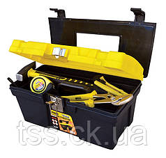"Ящик для инструмента MASTERTOOL 16"" (405х225х205 мм) металлические замки 79-2039"