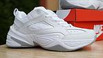 Жіночі кросівки Nike M2K Tekno (білі) 20258 демісезонні низькі шкіряні кроси, фото 3
