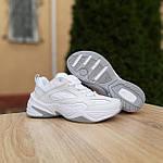 Жіночі кросівки Nike M2K Tekno (білі) 20258 демісезонні низькі шкіряні кроси, фото 2