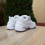 Жіночі кросівки Nike M2K Tekno (білі) 20258 демісезонні низькі шкіряні кроси, фото 10