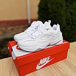Жіночі кросівки Nike M2K Tekno (білі) 20258 демісезонні низькі шкіряні кроси, фото 7
