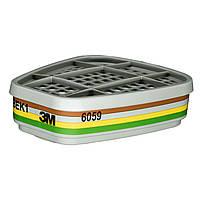 Фильтр картридж  угольный 3М 6059 АBEK1