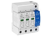 Разрядник для защиты от перенапряжений 3-полюсный + NPE, V20-C 3+NPE-280 Артикул 5094656