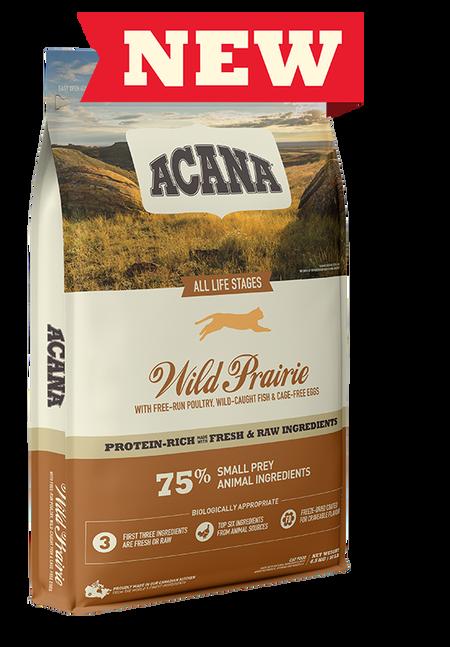 Сухий корм Acana WILD PRAIRIE CAT 4.5 кг для кошенят і кішок (птах/риба)