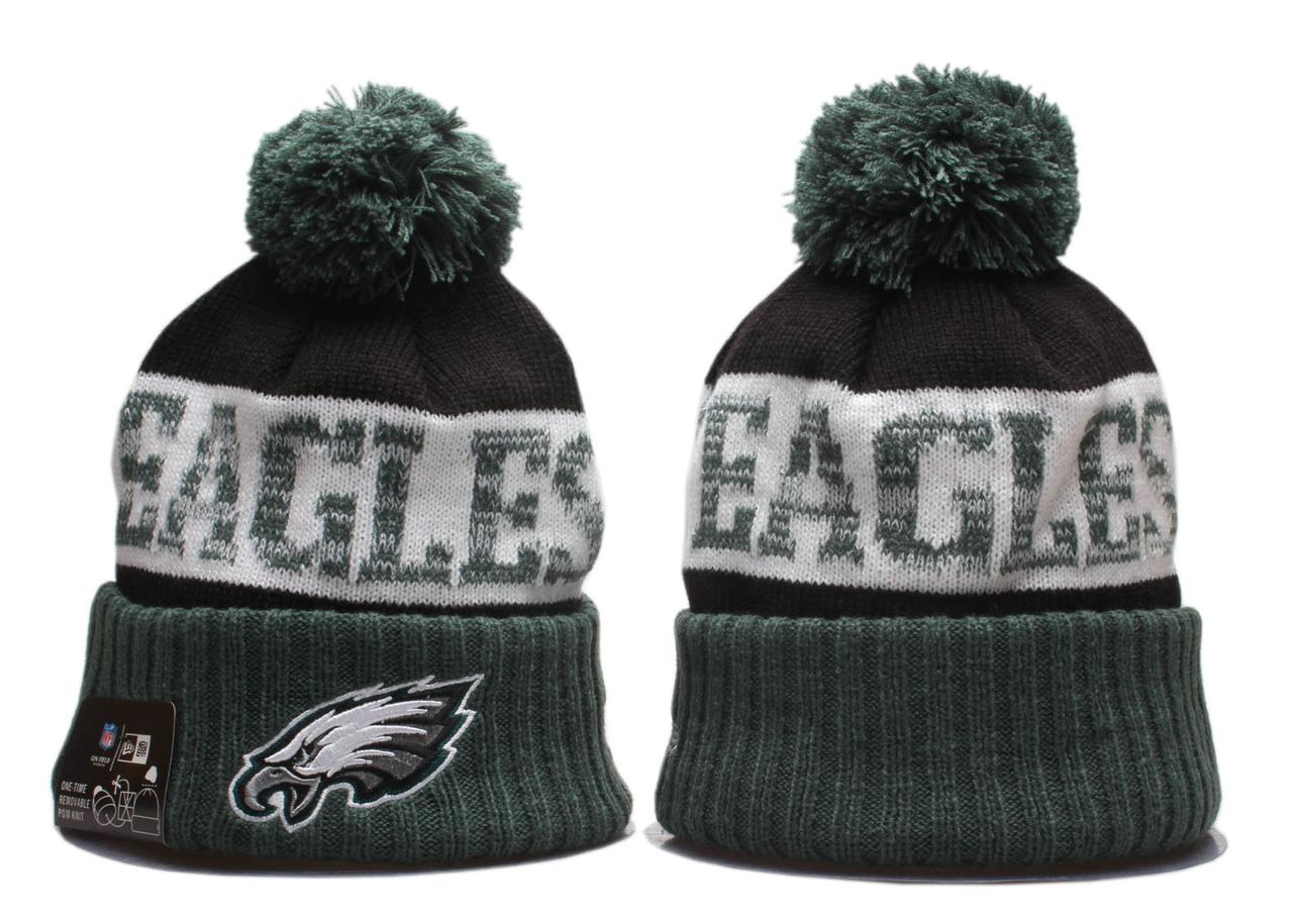 Шапка зимняя Philadelphia Eagles / SPK-135 (Реплика)
