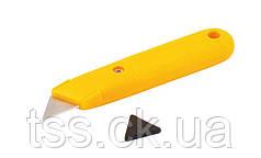 Нож трапеция пластиковый MASTERTOOL 17-0300