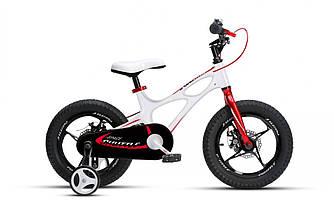 """Велосипед детский 2+2-х колесный RoyalBaby SPACE SHUTTLE 16"""", OFFICIAL UA, белый от 4 до 6 лет рост 105-135 см"""