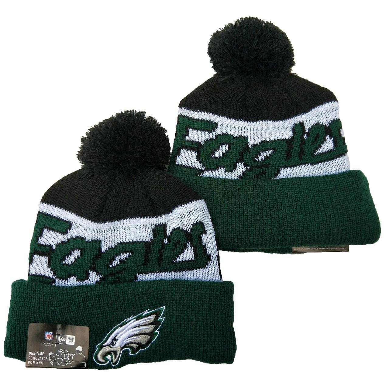 Шапка зимняя Philadelphia Eagles / SPK-136 (Реплика)