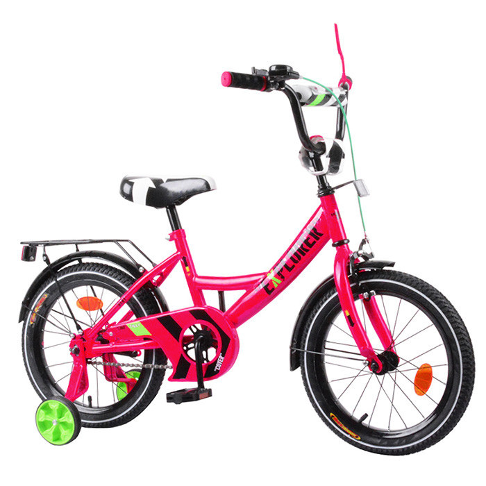 """Велосипед  EXPLORER 16""""  2-х коліснийcrimson з дзвінком та ручним гальмом T-216110"""