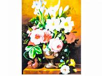 Картина по номерам 6084 40 х 50 см Ваза с цветами
