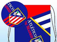 "Сумка для взуття ""Старша школа"" двост. друк, футбол Atletico 978871"